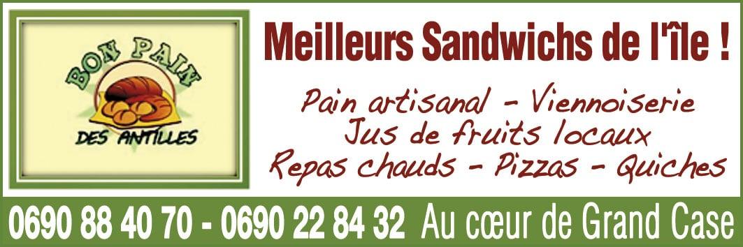 Annuaire Téléphonique St Martin - Bon Pain des Antilles