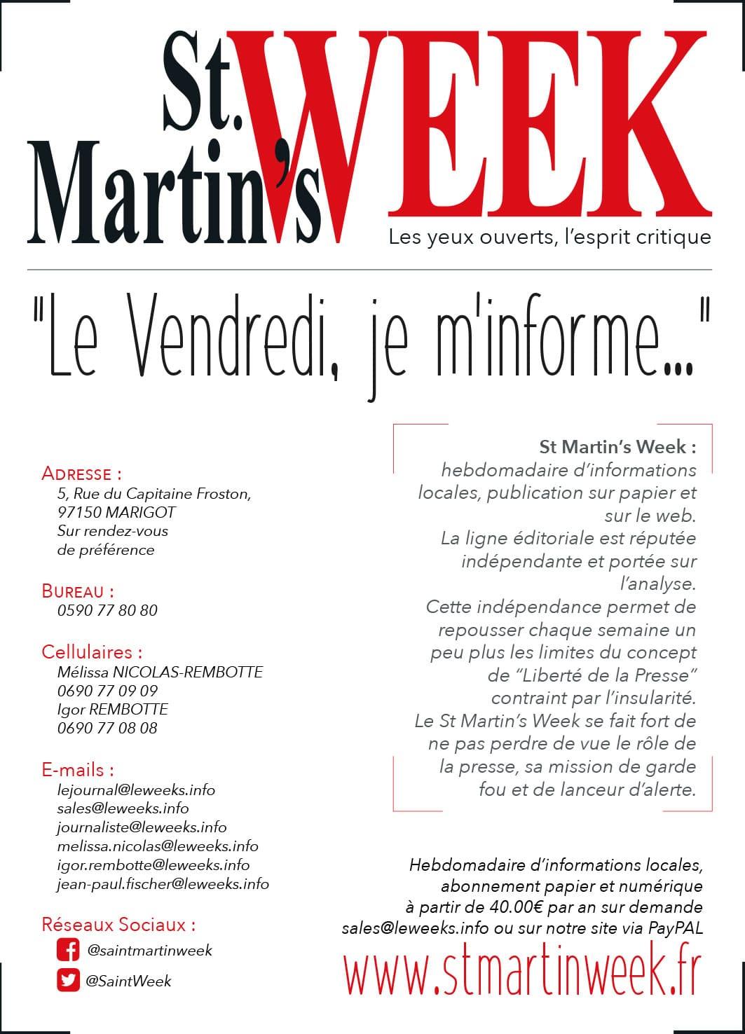 Annuaire Téléphonique St Martin - St Martin's Week