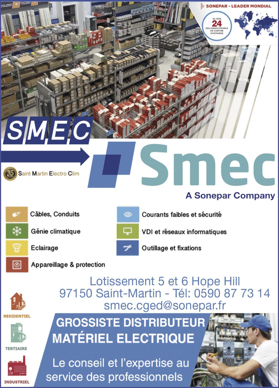 Annuaire Téléphonique St Martin - SMEC