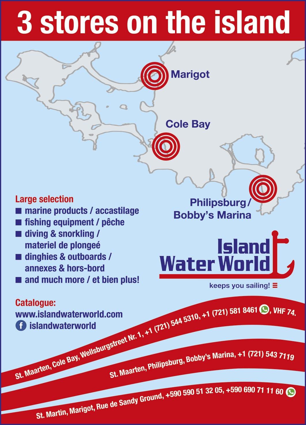 Annuaire Téléphonique St Martin - Island Water World