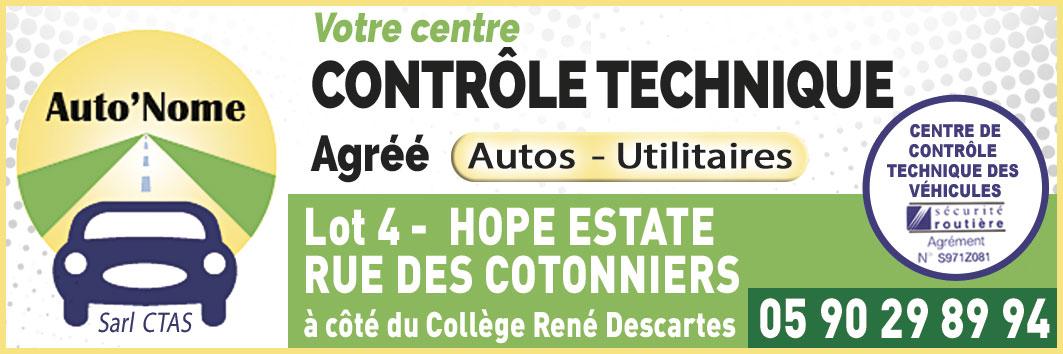 Annuaire Téléphonique St Martin - CTAS Contrôle Technique