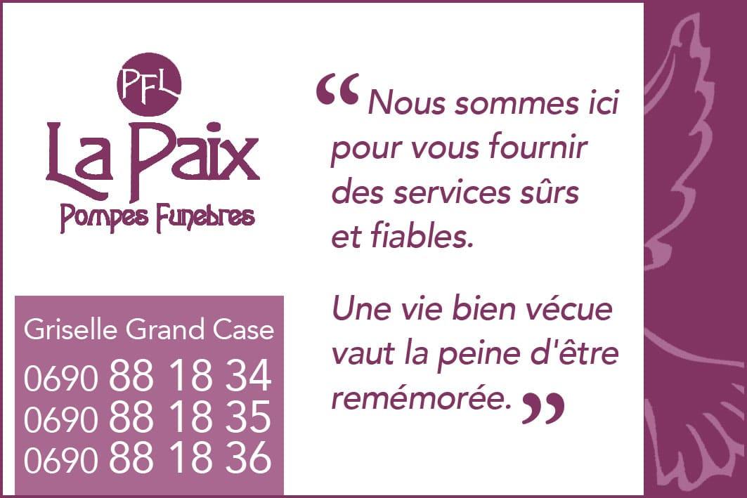 Annuaire Téléphonique St Martin - La Paix - Pompes Funèbres