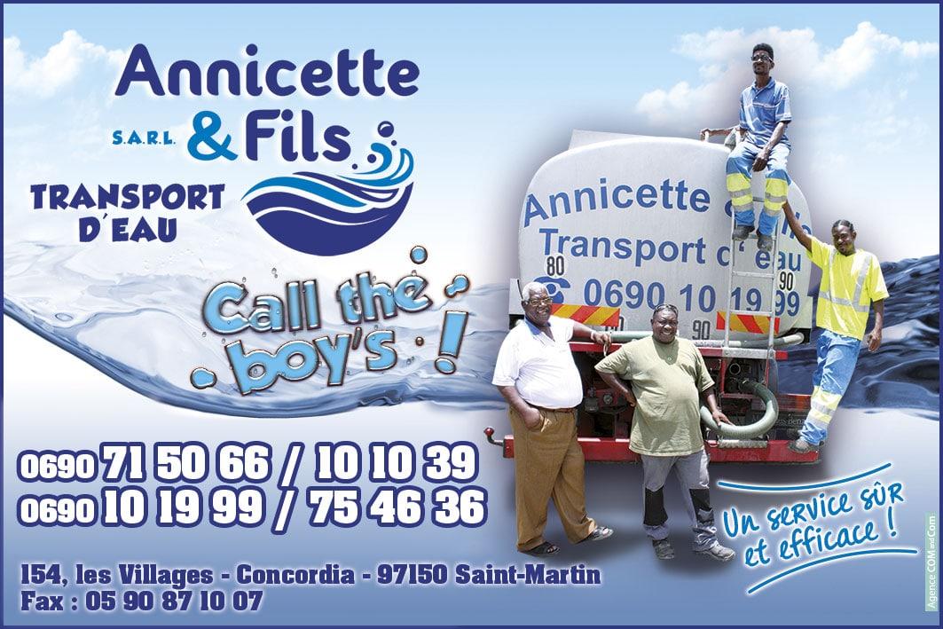 Annuaire Téléphonique St Martin - Annicette & Fils